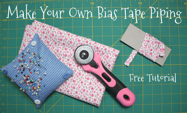 Make Your Own Bias Tape Piping