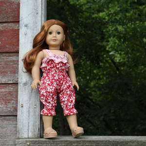 Doll clothing created by Team Tillie Tester Pam Ray