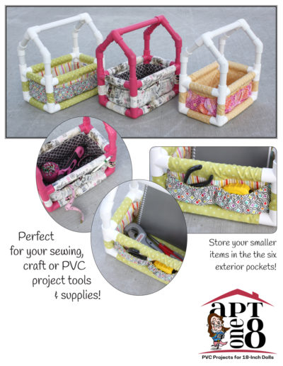 PVC Tool Tote Pattern for Kids