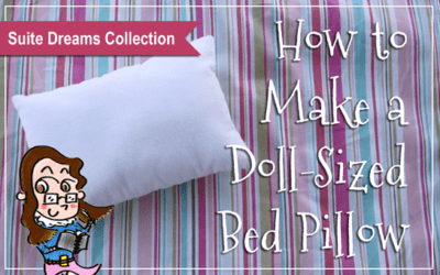 How to Make a Doll-Sized Bed Pillow