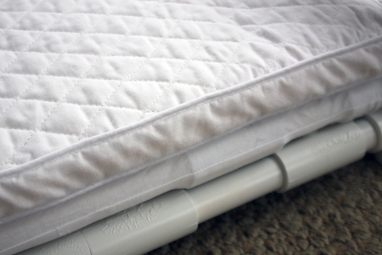 """Free Tutorial: How to Make a """"Mock"""" Spring for your Doll Bed"""