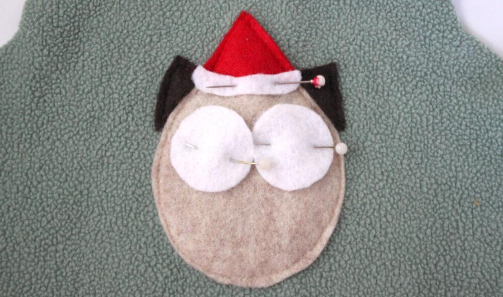 Free Doll-Sized Owl Applique Tutorial