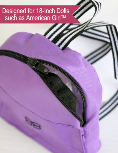 Nylon Backpack for 18-inch dolls