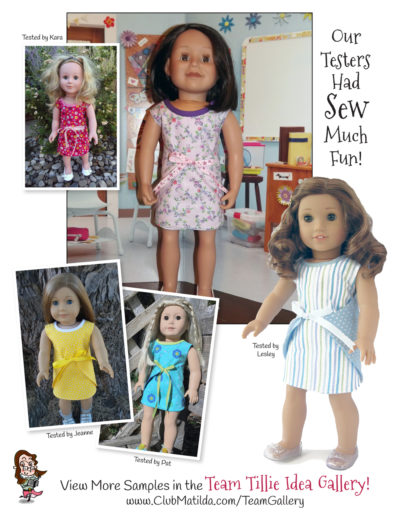 Wraptastic Reversible Dress for 18-inch Dolls such as American Girl™