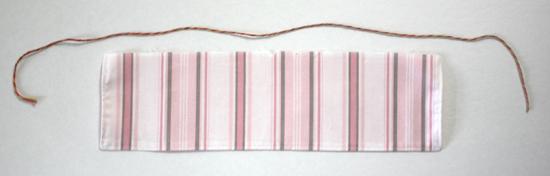 Free Tutorial - Easy gathering technique using crochet thread