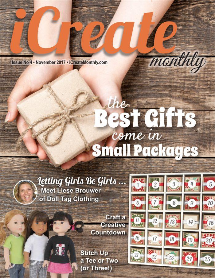 Back Issue - iCreate Monthly Magazine - Issue 04 - Nov 2017