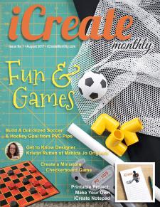 Back Issue - iCreate Monthly Magazine - Issue 01 - Aug 2017