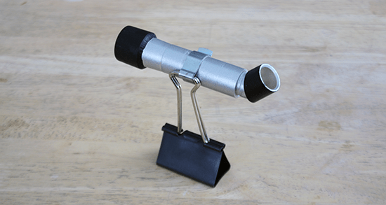 Free Tutorial: How to Make a Doll-Sized Telescope using CPVC Pipe