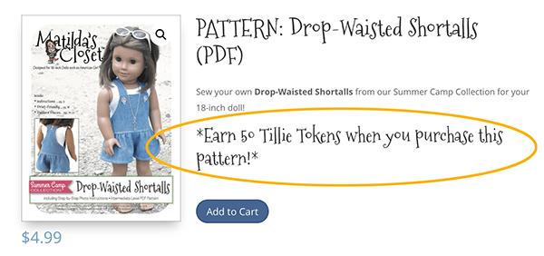 Earn rn reward credits when you purchase patterns at ClubMatilda.com