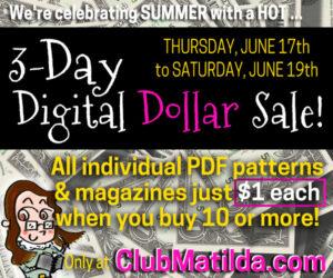Club Matilda 3-Day Digital Dollar Sale