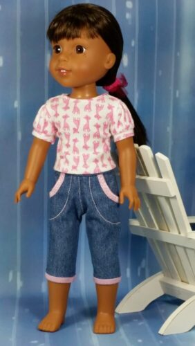 PATTERN: Cutie Patootie Capris to fit 14.5-inch dolls such as WellieWishers™ (PDF) photo review