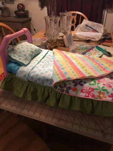 PATTERN: Snug As A Bug Collection: Basic Bedding Set photo review