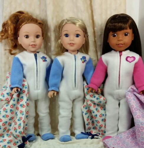 PATTERN: Footie Jammies for 14.5-inch dolls such as WellieWishers™ photo review