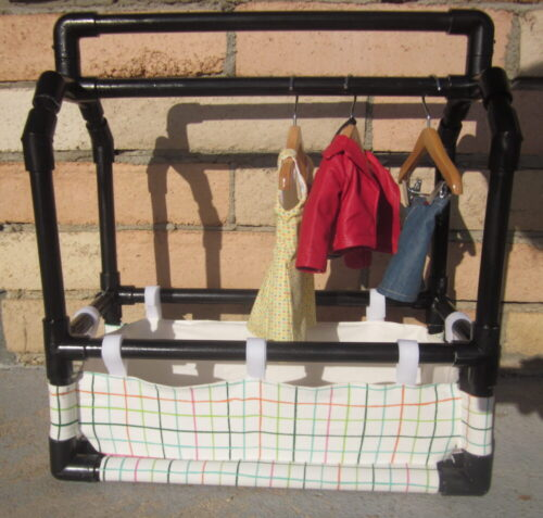 Matilda's Closet Caddy PVC Plans photo review