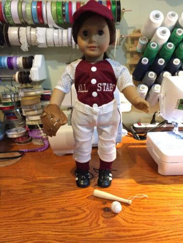 PATTERN: Atta Girl Baseball/Softball Uniform (PDF) photo review