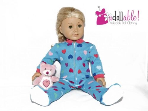 PATTERN: Footie Jammies for 18-inch Dolls photo review