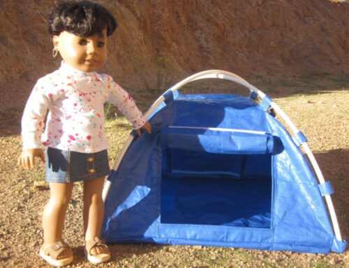 PATTERN: Happy Campers Dome Tent (PDF) photo review