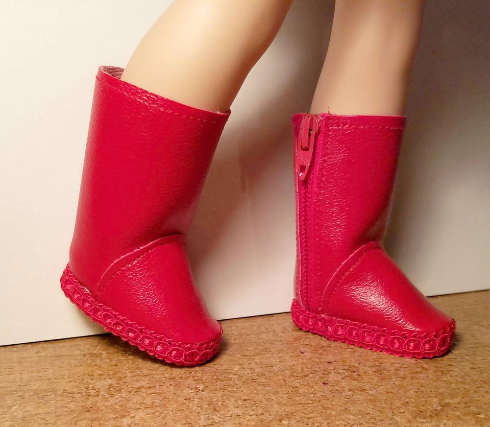 Basic Side-Zip Boots pattern tested by Jozel Watson