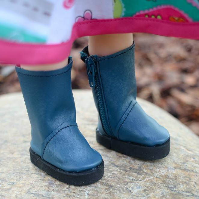 Basic Side-Zip Boots pattern tested by Sarah Reilly