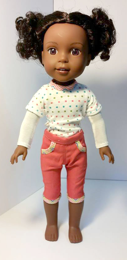 Cutie Patootie Capris pattern tested by Christine Dolbec