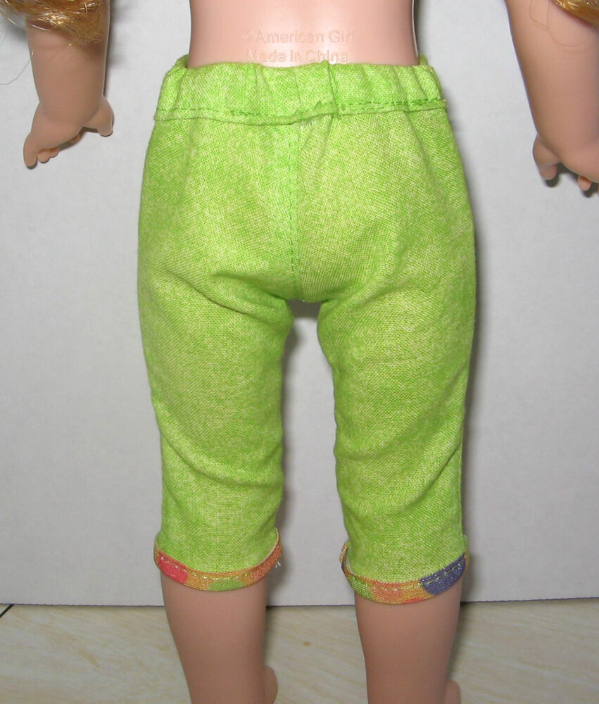 Cutie Patootie Capris pattern tested by Cindy Montano