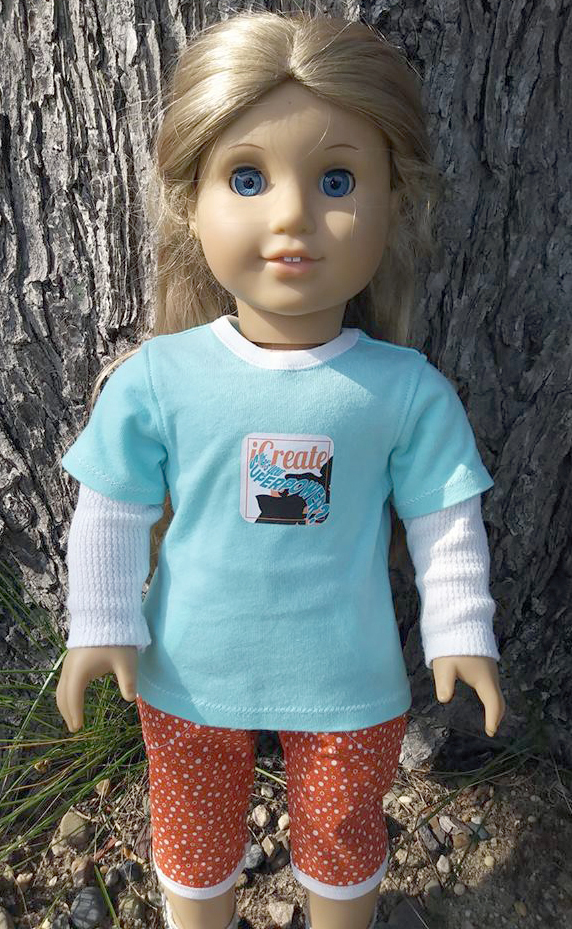 Cutie Patootie Capris pattern tested by Jeanne Marshall