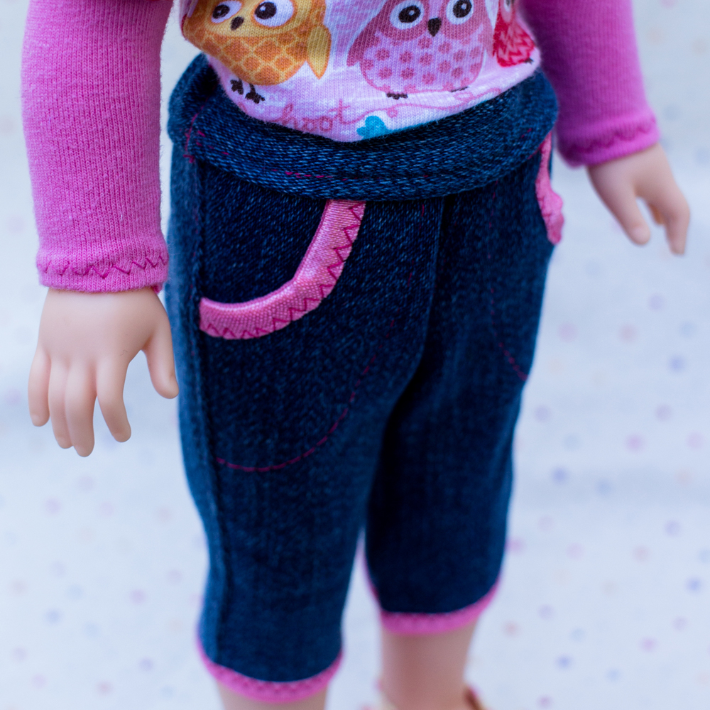 Cutie Patootie Capris pattern tested by Sarah Reilly