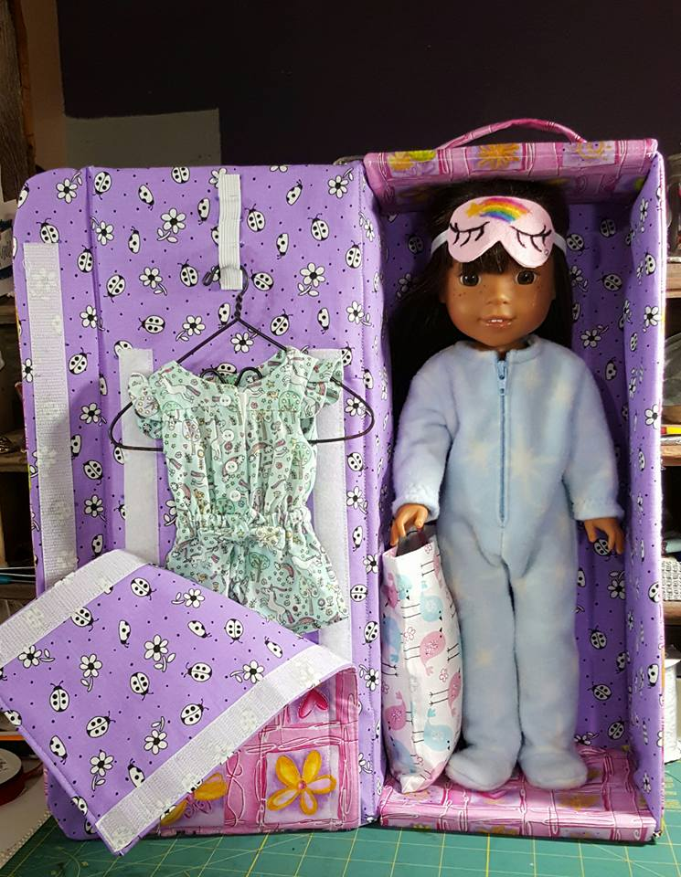 Doll carrier pattern tested by Pam Ray