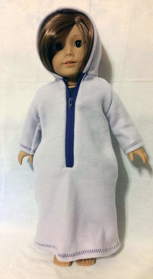 Hooded Bathrobe pattern tested by Gerry Thompson