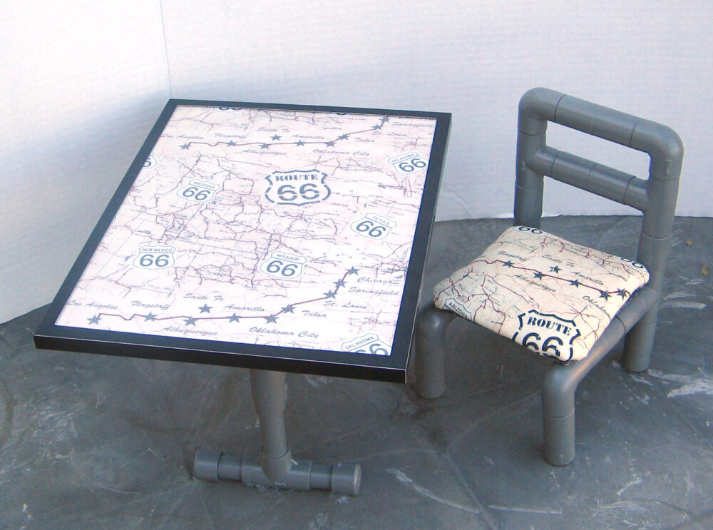 No-Sew Side Chair doll furniture pattern tested by Cindy Montano