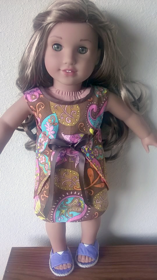 Wraptastic Reversible Dress pattern tested by Cyndi Haught