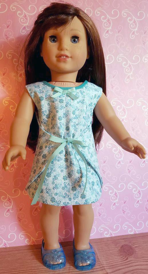 Wraptastic Reversible Dress pattern tested by Jozel Watson